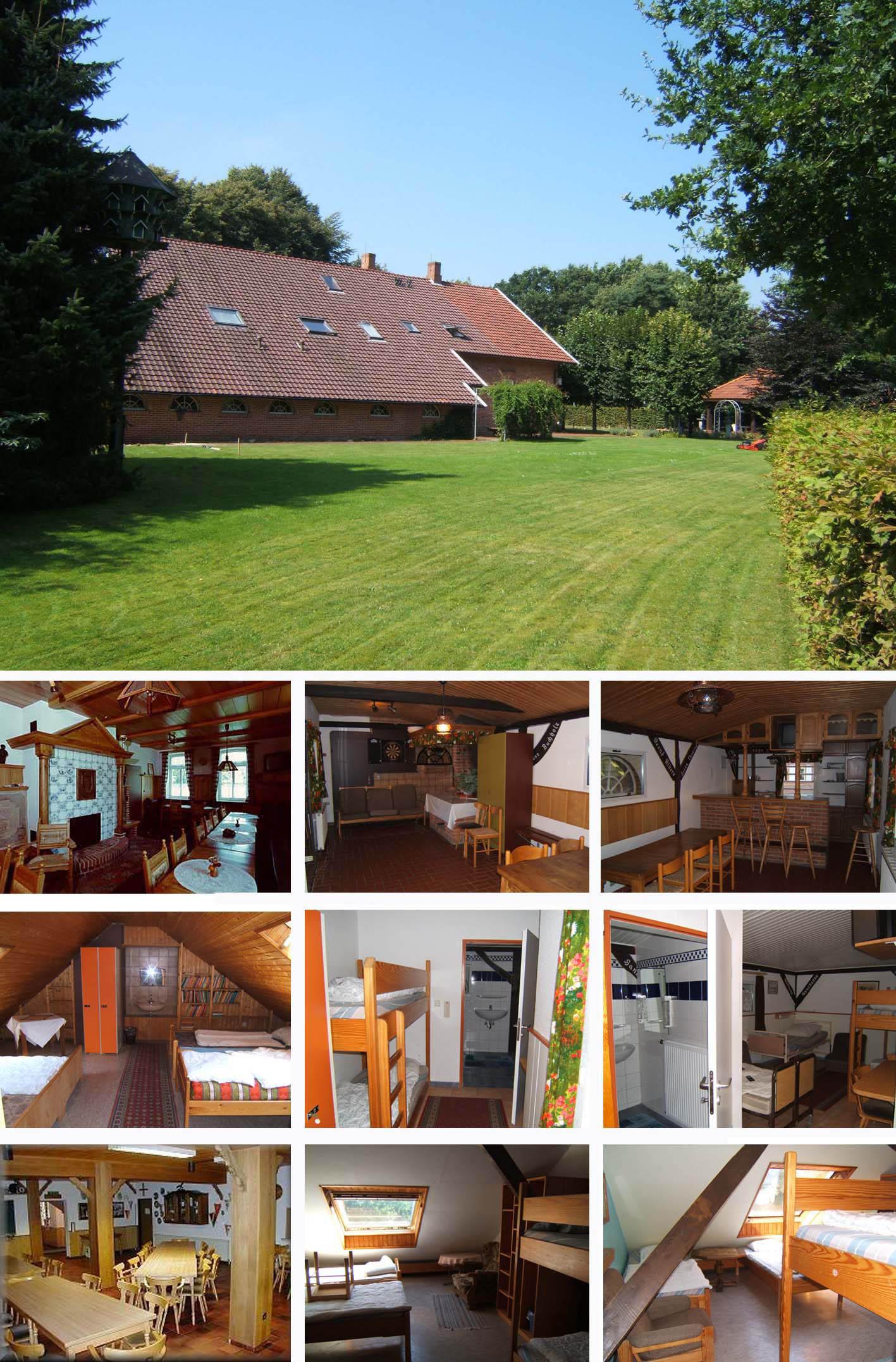 Groepsaccommodatie Stadskanaal Groningen   huis 43 personen met sauna